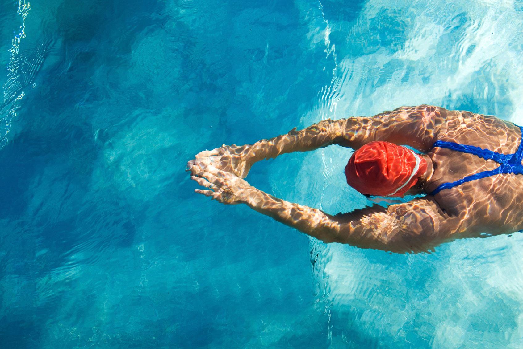 Reparación de piscinas deportivas